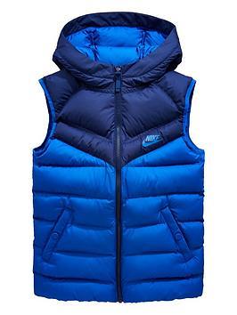 nike-sportswear-older-boysnbspfilled-giletnbsp--bluenbsp