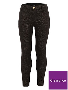 river-island-girls-black-glitter-coated-molly-jeggings