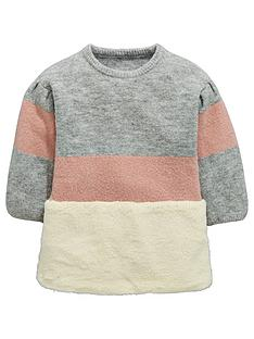 mini-v-by-very-colour-block-fur-tunic