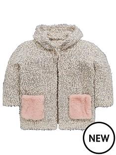 mini-v-by-very-fur-pocket-cosy-knit-pom-pom-cardigan