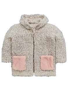 mini-v-by-very-girls-faux-fur-pocket-cosy-knit-pom-pom-cardigan