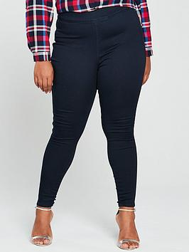 V by Very Curve V By Very Curve High Waisted Jegging - Indigo Picture