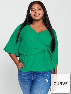 v-by-very-curve-drape-wrap-satin-blouse-emeraldnbsp