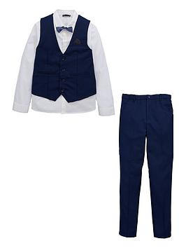 V by Very V By Very Occasion Four Piece Suit Set - Navy Picture