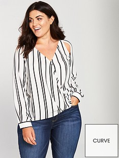 v-by-very-curve-cut-out-detail-wrap-blouse-printednbsp