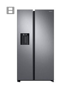 samsung-rs68n8240s9eu-american-style-frost-free-fridge-freezer-with-plumbed-water-ice-dispenser-andnbsp5-year-samsung-parts-and-labour-warranty--nbspmatt-silver