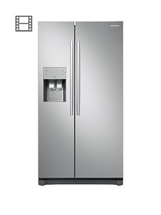 samsung-rs50n3513saeu-america-style-frost-free-fridge-freezer-with-plumbed-water-ice-dispenser-and-5-year-samsung-parts-and-labour-warranty--nbspgraphite