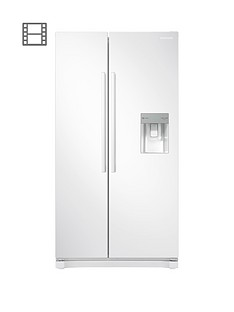 samsung-rs52n3313wweu-america-style-frost-free-fridge-freezer-with-non-plumbed-water-dispenser-and-5-year-samsung-parts-and-labour-warranty--nbspwhite