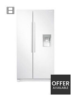 samsung-rs52n3313wweu-america-style-frost-free-fridge-freezer-with-non-plumbed-water-dispensernbsp-nbspwhite