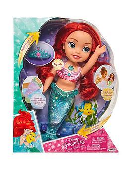 Disney Princess Disney Princess Sing & Sparkle Ariel Doll Picture