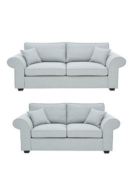 Very Victoria Fabric 3 Seater + 2 Seater Sofa Set (Buy And Save!) Picture