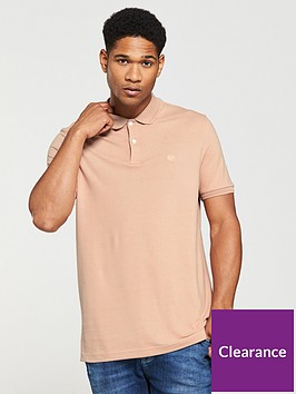 v-by-very-mens-short-sleeve-pique-polo-rose