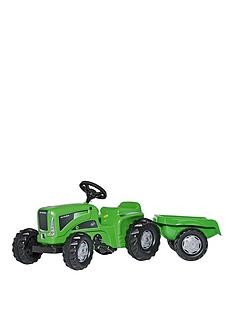 rolly-toys-rolly-kiddy-futura-tractor-with-trailer
