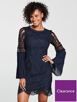 river-island-lace-bodycon-dress-navy