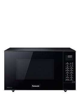 Panasonic   27-Litre Slimline Microwave, Oven &Amp; Grill With Inverter Technology Nn-Ct56Jbbpq