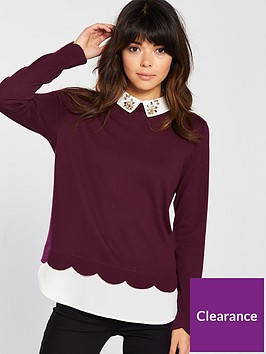 ted-baker-ted-baker-suzaine-embellished-collar-knitted-jumper