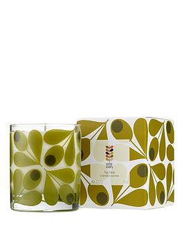 Orla Kiely Orla Kiely Scented Candle &Ndash; Fig Tree Picture