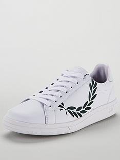 fred-perry-b721-printed-laurel-leather-trainer-whitenbsp