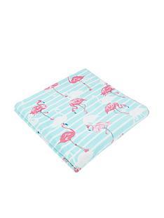 monsoon-flossie-flamingo-towel