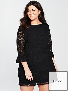 v-by-very-curve-lace-tunic-dress