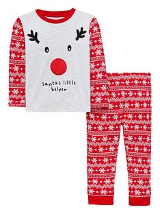 mini-v-by-very-2-piece-reindeer-santas-little-helper-pyjama-set-multi