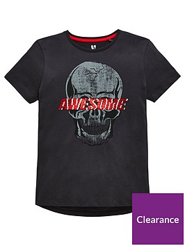 v-by-very-awesome-reversible-sequin-skull-t-shirt