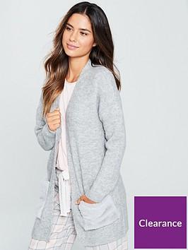 v-by-very-faux-fur-pocket-cardigan-grey