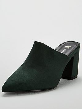 v-by-very-callie-block-heel-point-mule-green