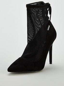 v-by-very-foxy-mesh-point-shoe-boot-black