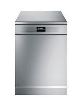 smeg-df614ptx-60cmnbspwide-freestanding-14-place-dishwasher-with-flexiduo-baskets-stainless-steel