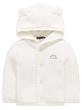 v-by-very-baby-unisex-soft-knit-jersey-lined-cardigan-cream