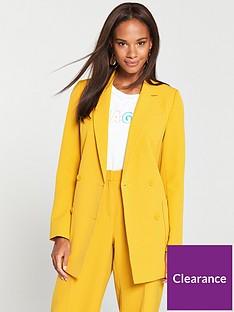 v-by-very-db-blazer-mustard