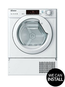 candy-cbtd-h7a1tenbsp7kgnbspload-integrated-smart-touch-heat-pump-tumble-dryer-with-optional-installationnbsp--white