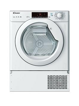 Candy   Cbtd H7A1Te 7Kg Load Integrated, Smart Touch Heat Pump Tumble Dryer - White - Dryer Only