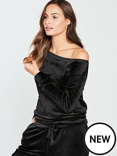 v-by-very-slouchy-fit-velour-sweat-top-black
