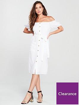 river-island-bardot-midi-dress-white