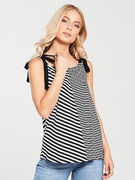 v-by-very-tie-shoulder-vest-stripe