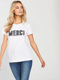 v-by-very-merci-lace-slogan-t-shirt-white
