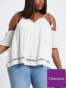ri-plus-tie-up-cold-shoulder-blouse-white
