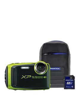 fujifilm-finepix-xp120-tough-camera-withnbsp32gbnbspsd-memory-card-amp-carry-case--nbspblacklime-green