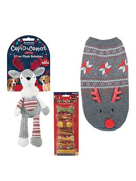 rosewood-dog-christmas-bundle-jumper-medium-toy-andnbsptreats