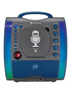 the-singing-machine-sml363-glow-karaoke-machine-ndash-black