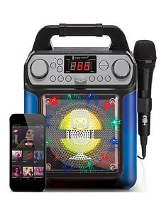 groove-mini-disco-light-mp3g-karaoke-system-with-voice-changer-effects-ndash-black