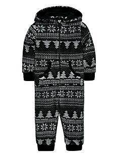 mini-v-by-very-christmas-tree-fairisle-fleece-all-in-one-with-borg-lined-hood