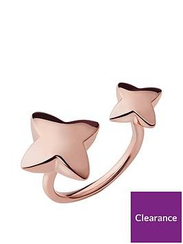 links-of-london-links-of-london-splendour-18kt-rose-gold-vermeil-double-ring