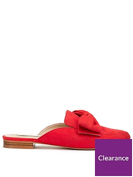 miss-selfridge-bow-flat-mule