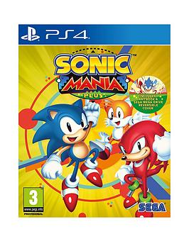 Playstation 4 Playstation 4 Sonic Mania Plus Picture