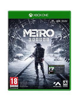 Xbox One Xbox One Metro Exodus Picture