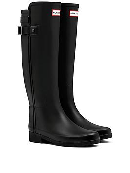 hunter-original-refined-back-strap-wellington-boot-black