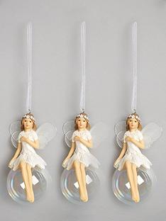 gisela-graham-iridescent-fairy-on-ball-christmas-tree-decorations-3-pack